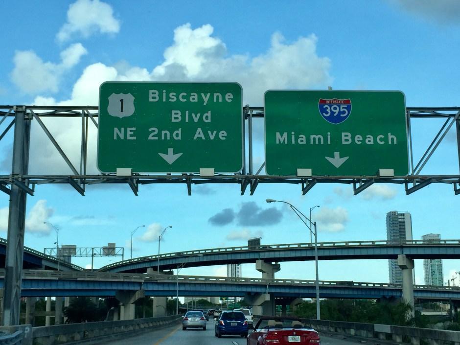 carreteras de acceso a Miami