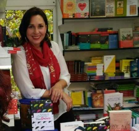 La escritora madrileña Sara Nieto