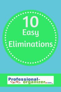 10 easy eliminations