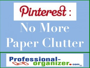no more paper clutter