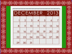 holiday calendar for time management