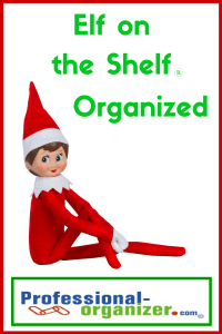 elf on the shelf organized