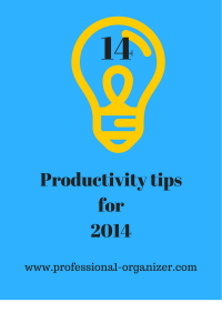 productivity tips to help you be more efficient and effective