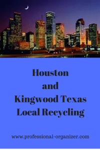Houston and Kingwood Texas Local Recycling