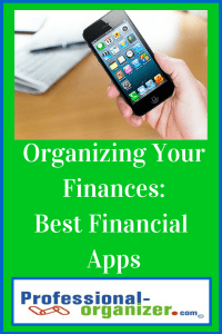 organizing your finances best apps
