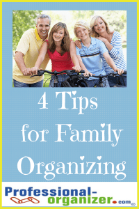 family organizing tips