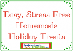 easy stress free homemade holiday treats