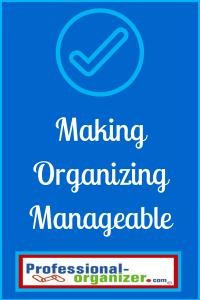 chunking organizing