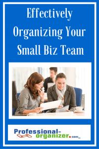 small business organizing