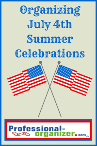 organize July 4 summer celebration