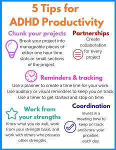 adhd productivity