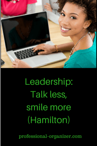 talk less smile more leadership