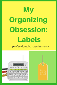 organizing obsession labels