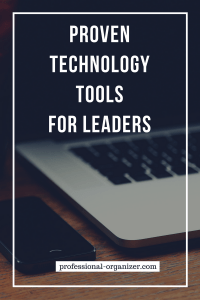 proven technology tools for leaders