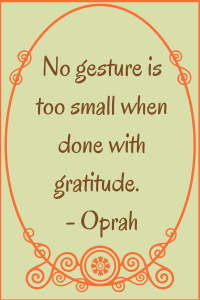 Gratitude Oprah
