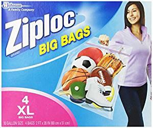 ziploc giant bags