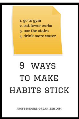 make habits stick