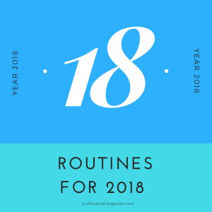 18 routines for 2018