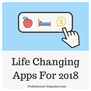 Life changing apps 2018