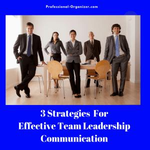 Team leadeship communication