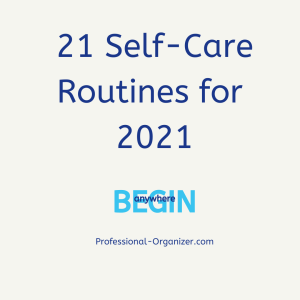 21 sekf-care routines for 2021