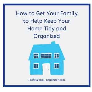 keep your home tidy