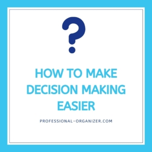 how to make decision making easier