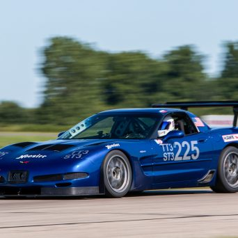 Professional Awesome Racing Splitter Support Installed on Andy Steven's C5 Chevy Corvette-1