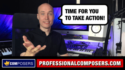Professional Composers - Take Action