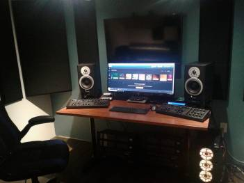 music production studio - keith myles