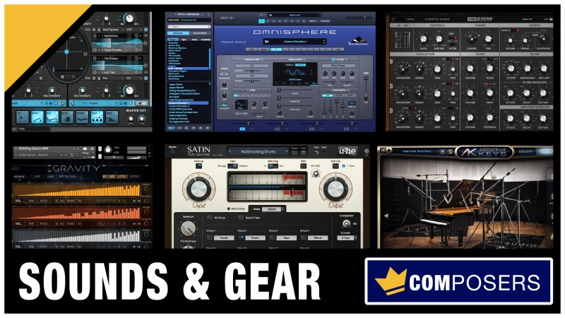 Check out these Special Deals for Composers