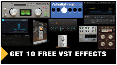 10 Best Free VST Effects (Get them Now) - Professional Composers