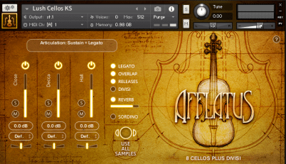 Afflatus Strings (interface)