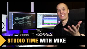 Studio Time with Mike