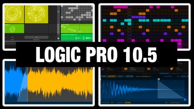 7 Top News in Logic Pro X 10.5