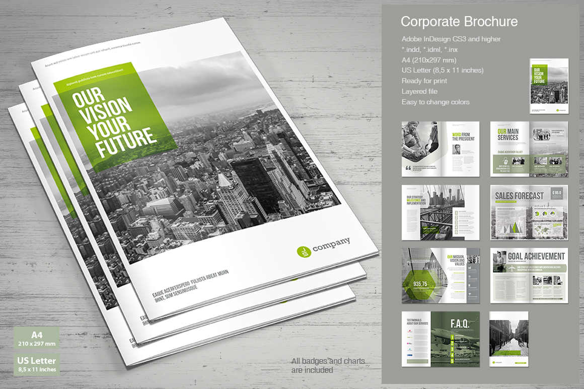 Business Brochure Templates | Business Brochure Mrtemplater Print Templates