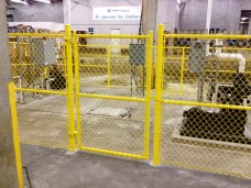Chain Link Walk Gate