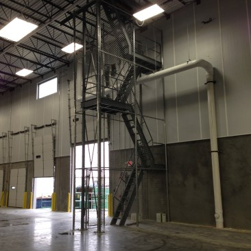 32' Tall Chain Link Cage