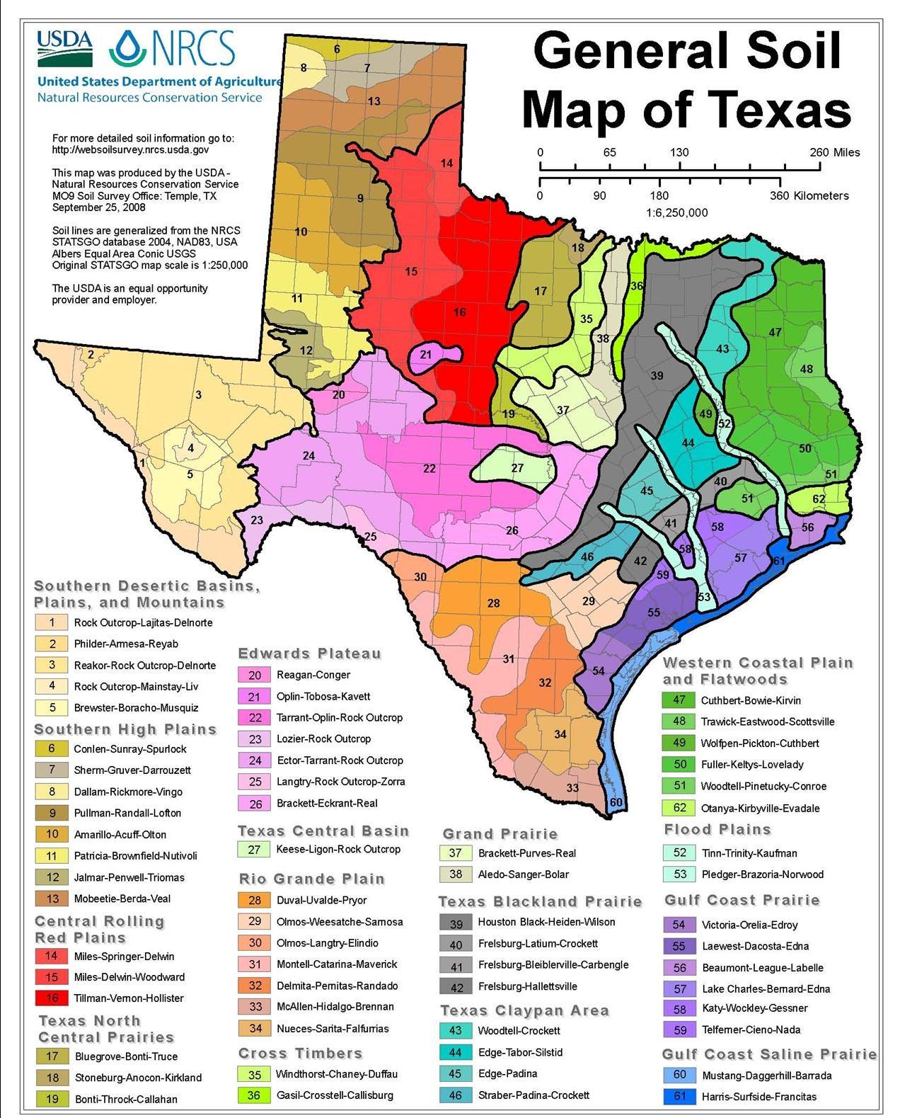 Areas Around Austin Texas