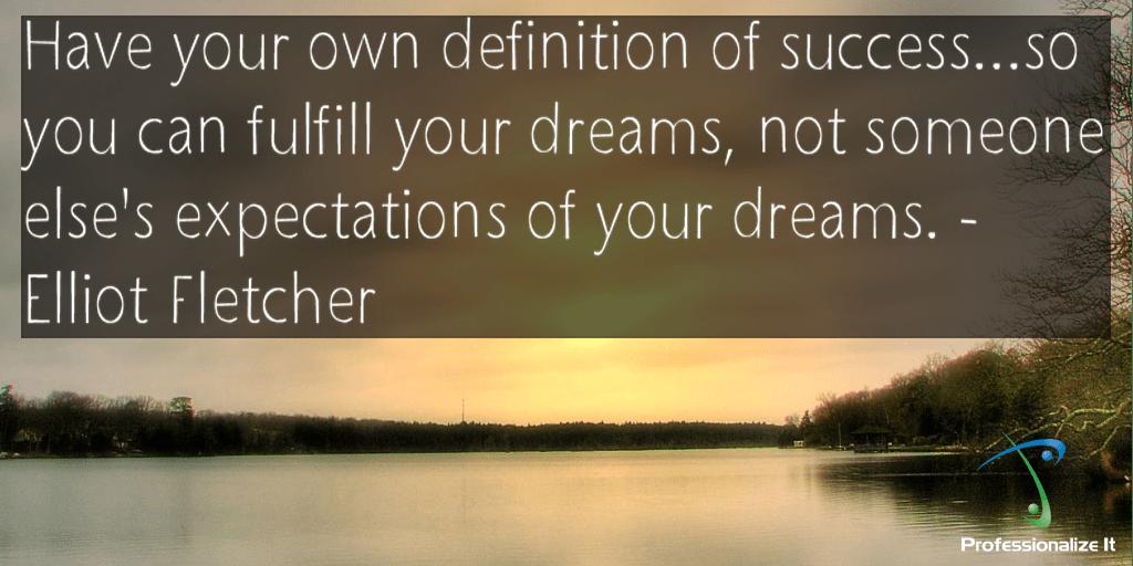 Success and dreams