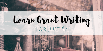 Learn Grant Writing Now