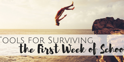 Baby Steps: Tips for Surviving the First Week of School