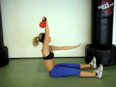 Kettlebell Take a seat-Up – Fitness With Rachel