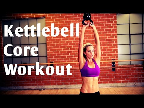 15 Minute Kettlebell Core Workout For Stable Abs