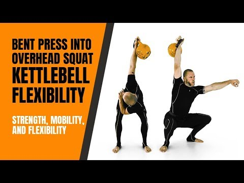 Crooked Press into Overhead Squat—Kettlebells for Flexibility