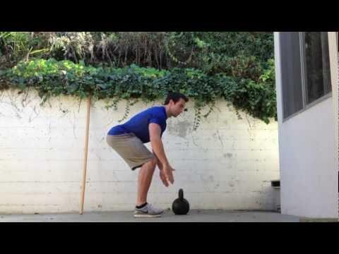 Systems to Kettlebell Deadlift: Kettlebell Basics with Hip Hinge