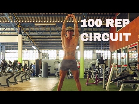 100 REP KETTLEBELL CIRCUIT | WORKOUT #20 | 30 DAY FITNESS CHALLENGE