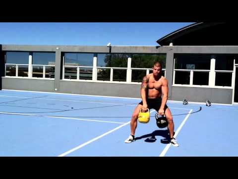 SixPack Abs Kettlebell Workout