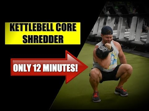 12 Minute Kettlebell Core Routine [Build POWERFUL Abs & Obliques]