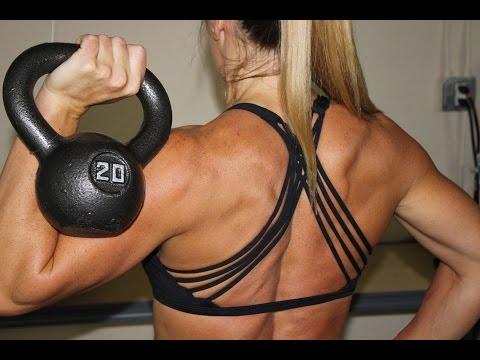 Kettlebell: Legs & Shoulders | Kettlebell Exercises | Sarah Grace Fitness